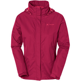 VAUDE Escape Light Chaqueta Mujer, crimson red